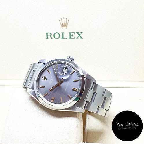 Rolex 34mm Grey Oysterdate Precision REF: 6694 (8.28 Million Series)