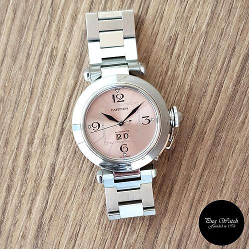 Cartier Pink Pasha Big Date (2)
