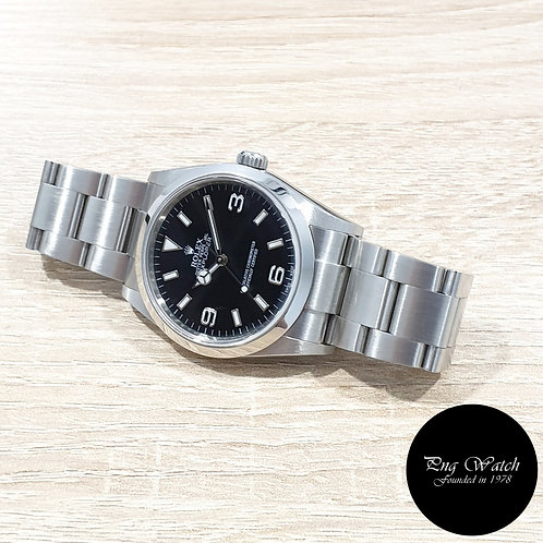 Rolex Oyster Perpetual 36mm Black Explorer One REF: 114270 (2)