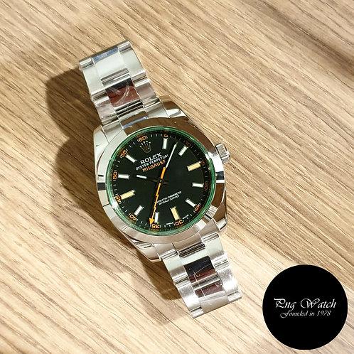 Rolex Oyster Perpetual Black Milgauss REF: 116400GV (2)