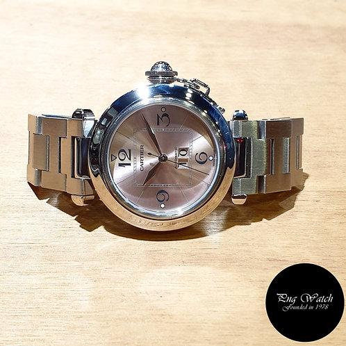 Cartier Pink Pasha Big Date REF: 2475 (2)