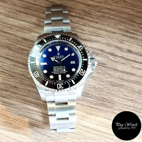 "Rolex Oyster Perpetual Date Sea Dweller ""DEEPSEA"" Blue REF: 116660 (2)"
