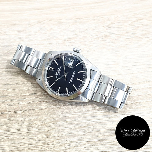 Rolex Oyster Perpetual Gloss Black Date REF: 1500 (2)