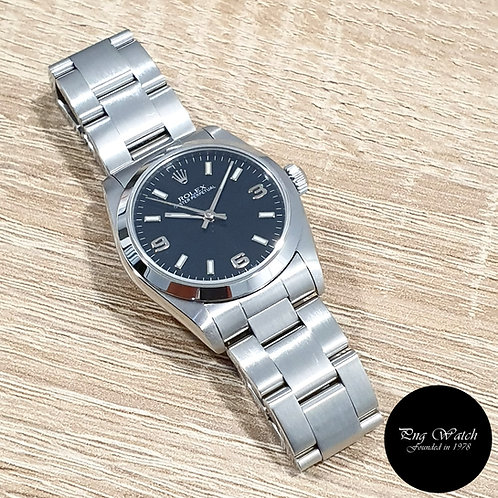 Rolex 31mm Black Automatic Oyster Perpetual REF: 77080 (2)
