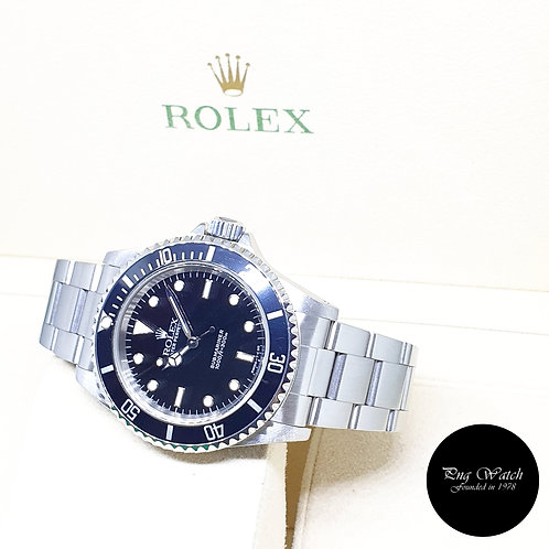 Rolex Oyster Perpetual Tritium 2 Liner No Date Black Submariner REF: 14060 (U)