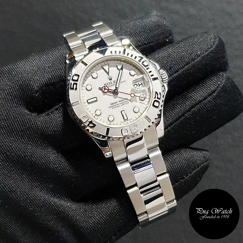 Rolex Oyster Perpetual Platinium 35mm Yachtmaster REF: 168622 (K Series)(2)