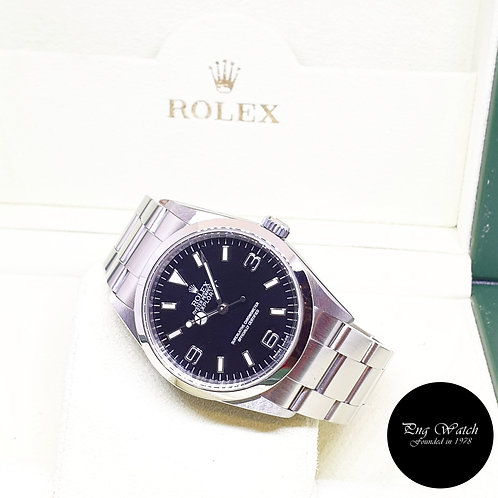 Rolex Oyster Perpetual 36mm Black Explorer One REF: 114270 (2009)