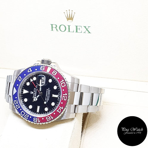 "Rolex Perpetual 18K Full White Gold ""PEPSI"" GMT Master 2 REF: 116719BLRO (2015)"