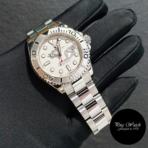 Rolex Oyster Perpetual  40mm Platinum Yachtmaster REF: 16622 (AN)(2)