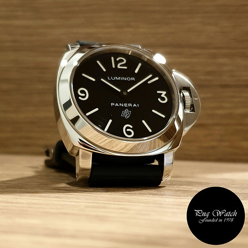 "Panerai ""LOGO"" Luminor Black Manual Winding Watch PAM000 (2)"