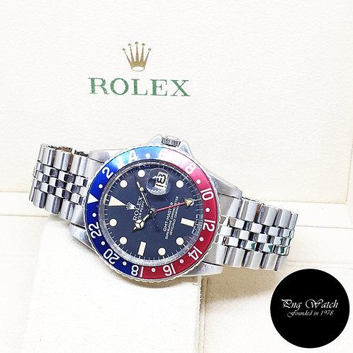 "Rolex Oyster Perpetual Steel ""PEPSI"" Black GMT Master REF: 1675 (1.81 Million)"