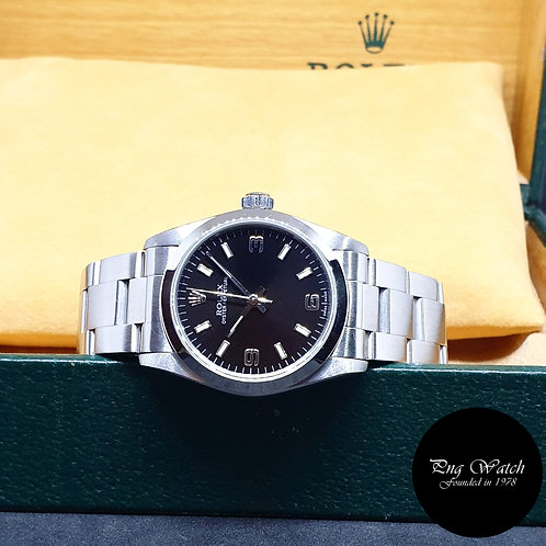 Rolex 31mm Black Automatic Oyster Perpetual REF: 77080