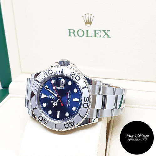 Rolex Oyster Perpetual Blue 40mm Yachtmaster REF: 116622 (2013)