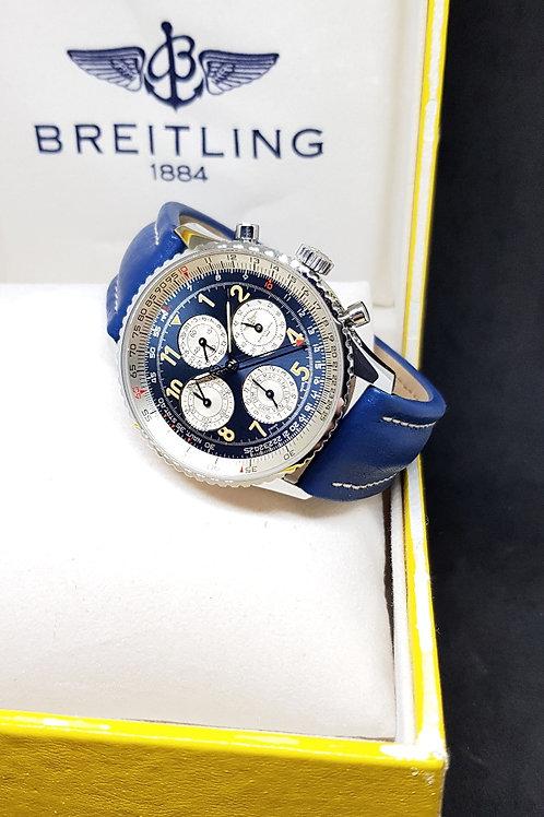 L.E Breitling Blue Navitimer 1461/52 Chronograph Watch REF: A38022