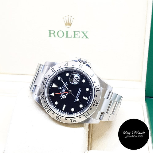 Rolex Oyster Perpetual 40mm Black Explorer 2 REF: 16570 (2005)