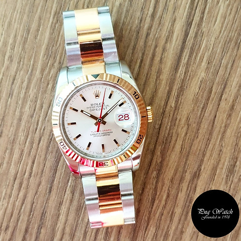"""Rolex Oyster Perpetual 18K Rose Gold and Steel  Datejust """"TOG"""" REF: 116261 (2)"""