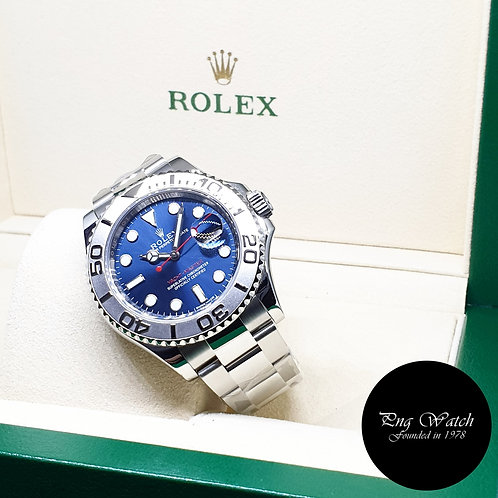 Rolex Oyster Perpetual 40mm Blue Yachtmaster REF: 116622