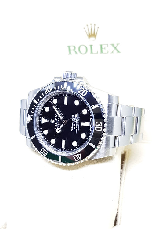 Rolex Ceramic No Date Submariner REF: 114060