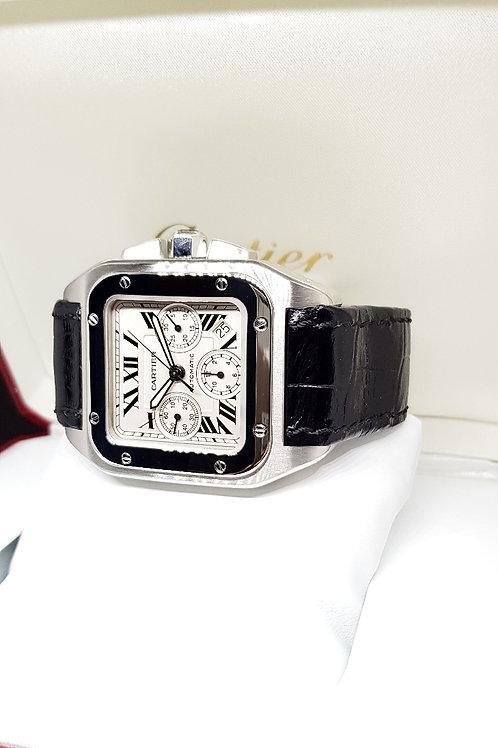Cartier Santos XL Chronograph REF: W20090X8