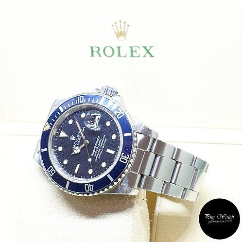Rolex Oyster Perpetual Tritium Date Black Submariner REF: 16800 (8.31 Million)