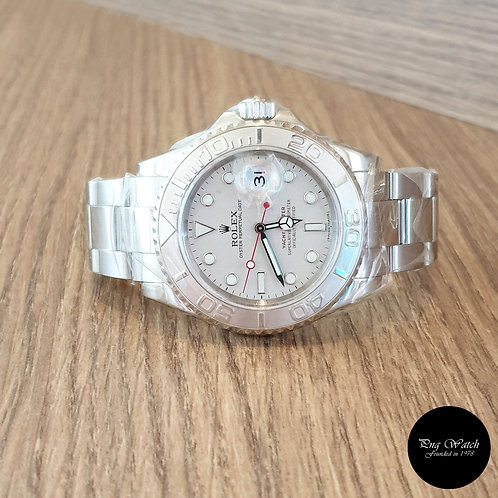 Rolex Oyster Perpetual Platinium Yachtmaster REF: 16622 (2)