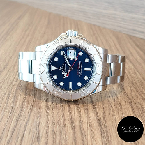 Rolex Oyster Perpetual Blue Yachtmaster REF: 116622 (2)