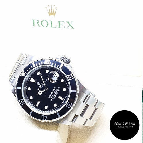 Rolex Oyster Perpetual 40mm Date Black Submariner REF: 16610 (2006)