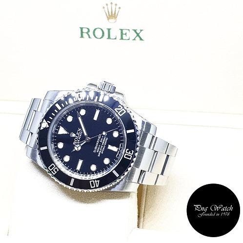 Rolex Oyster Perpetual Ceramic No Date Submariner REF: 114060