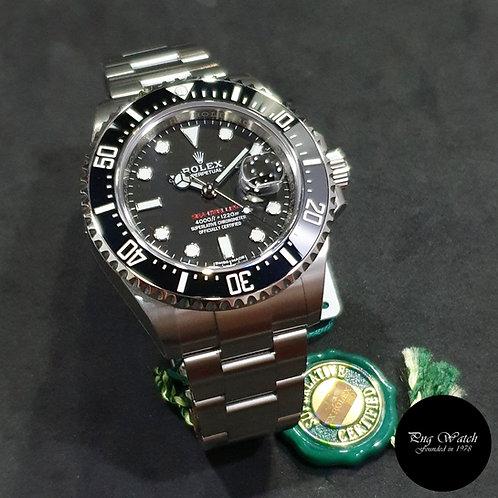 "Rolex OP 50th Anniversary ""MK1"" 43mm Black Sea Dweller REF: 126600 (2)"