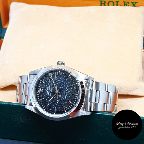 Rolex Oyster Perpetual No Date Black Indexes Tritium AirKing REF: 14000 (S)