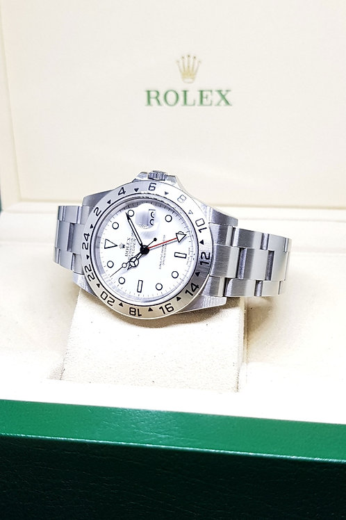 "Rolex Oyster Perpetual Date Explorer 2 ""POLAR"" REF: 16570"