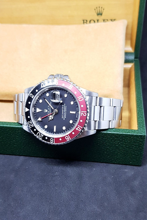 "Rolex Oyster Perpetual Date ""Big Fat Lady"" GMT Master 2 REF: 16760"