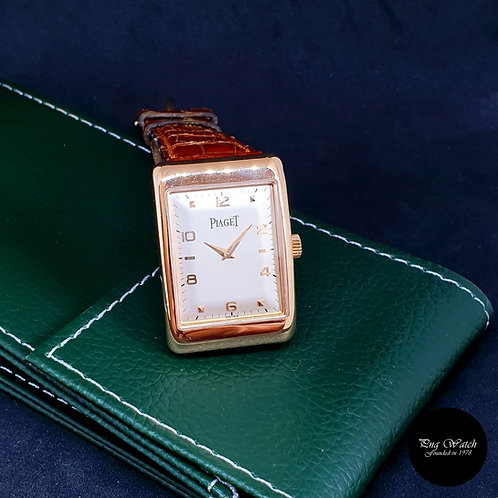 Classic Vintage Piaget 18K Rose Gold Manual Winding Wristwatch REF: 9952