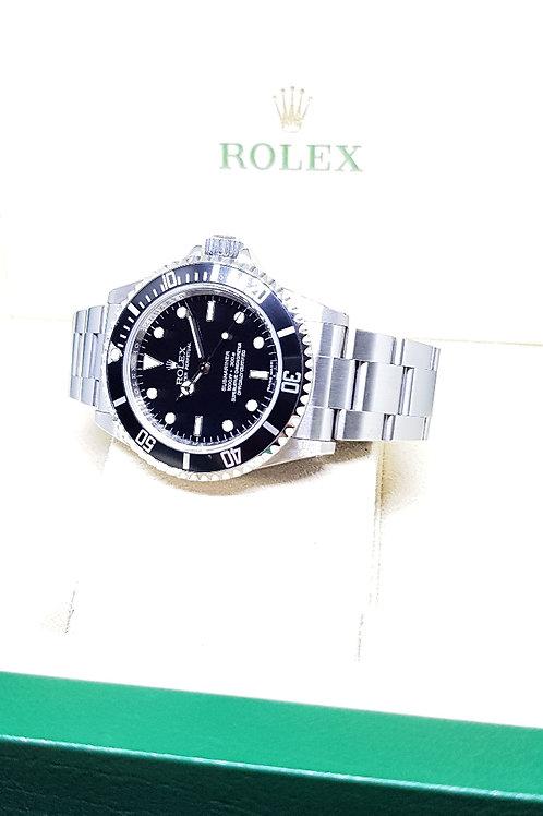 Rolex 4 Liner Submariner No Date REF: 14060M