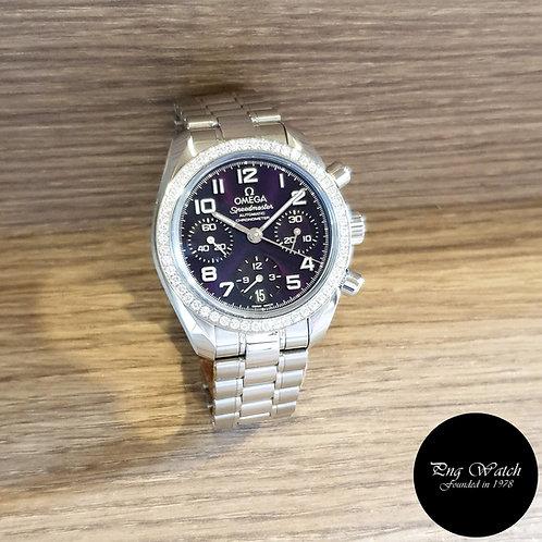 Omega Purple Speedmaster Chronograph REF: 324.15.38.40.10.001 (2),
