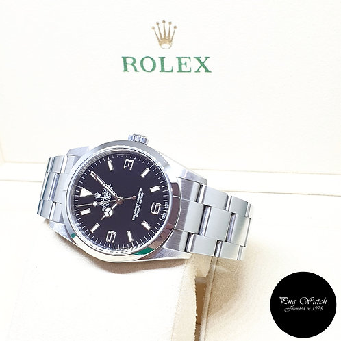 Rolex Oyster Perpetual 36mm Black Steel Explorer One REF: 114270 (2007)