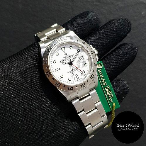 "Rolex Oyster Perpetual 40mm ""POLAR"" Explorer 2 REF: 16570 (K)(2)"