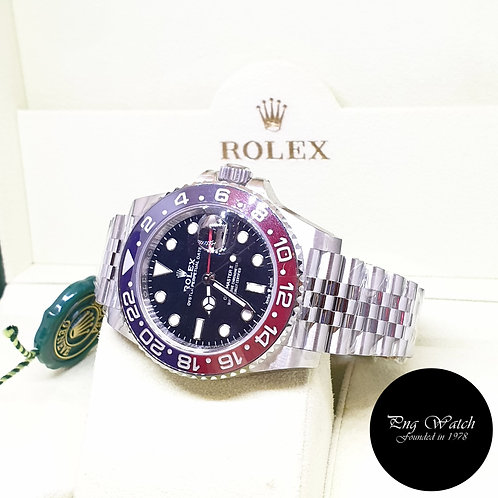 """Rolex Oyster Perpetual """"PEPSI"""" Jubilee GMT Master 2 REF: 126710BLRO"""