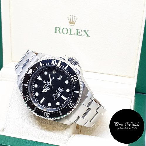 Rolex Oyster Perpetual 44mm Black Sea Dweller DEEPSEA REF: 116660 (AN Series)