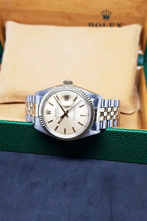 Rolex Champagne Oyster Perpetual Datejust REF: 1601