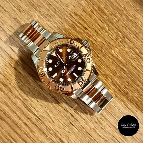 Rolex 18K Half Rose Gold Yachtmaster REF: 116621