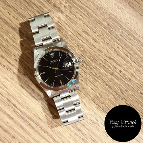 Rolex Gloss Black Precision Oysterdate REF: 6694 (Full set)(2)
