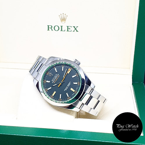 Rolex Oyster Perpetual Black Milgauss REF: 116400GV