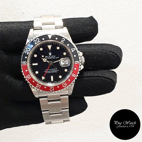 "Rolex Oyster Perpetual Tritium ""COKE"" Black GMT Master 2 REF: 16710 (2)"