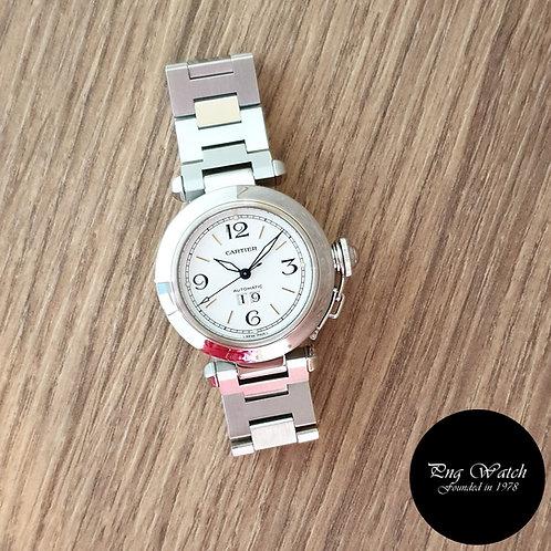 Cartier White Pasha Big Date REF: 2475 (2)