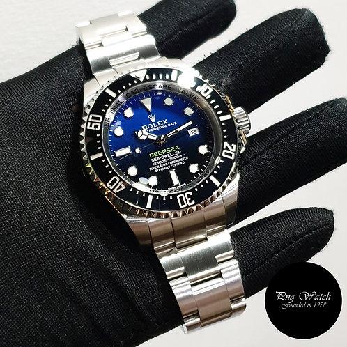 "Rolex Oyster Perpetual 44mm Sea Dweller ""DEEPSEA"" Blue REF: 116660 (15)(2)"