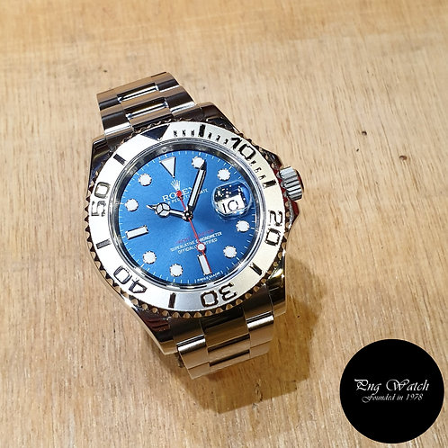 Rolex Oyster Perpetual Blue 40mm Yachtmaster REF: 116622 (2)