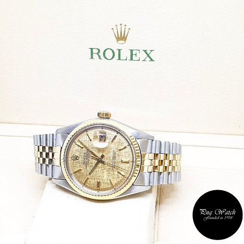 Rolex Oyster Perpetual 14K Half Gold Datejust REF: 1601 (1973)