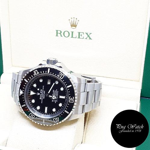 "Rolex Oyster Perpetual 44mm Black Sea Dweller ""DEEPSEA"" REF: 126660 (2019)"