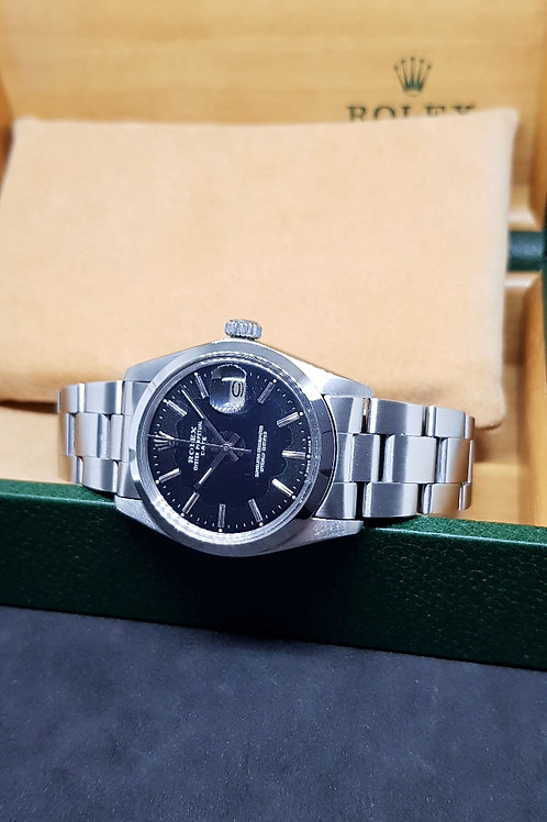 Rolex Oyster Perpetual Gloss Black Date REF: 1500